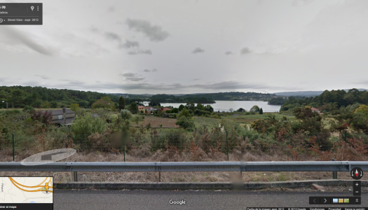 Embalse de Cecebre (Google Maps)