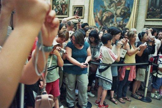 Turismo masivo pinacoteca