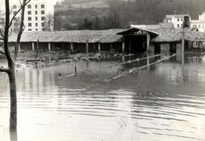 Inundaciones en Sada, 1963 Tejera de Brandariz Fuente: www.memoriadesada.com