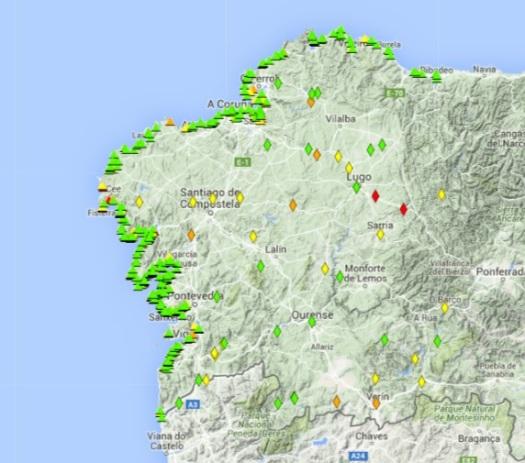 Mapa Xunta