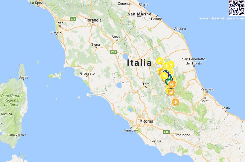 Terremotos Italia